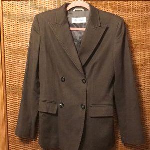 Gorgeous Max Mara wool/cashmere blazer misses sz 8